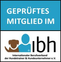 geprüftes Mitglied im Internationaler Berufsverband der Hundetrainer und Hundeunternehmer e.V.